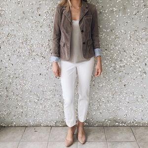 Jackets & Blazers - Gray corduroy blazer